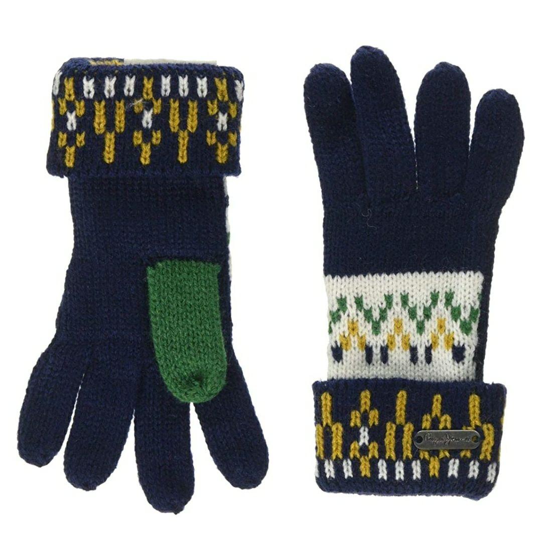 TALLA L - Pepe Jeans Trico Gloves Guantes para Niños