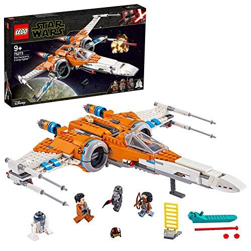 LEGO- Caza ala-X de PoE Dameron Episode IX Juego de construcción, Multicolor (75273)