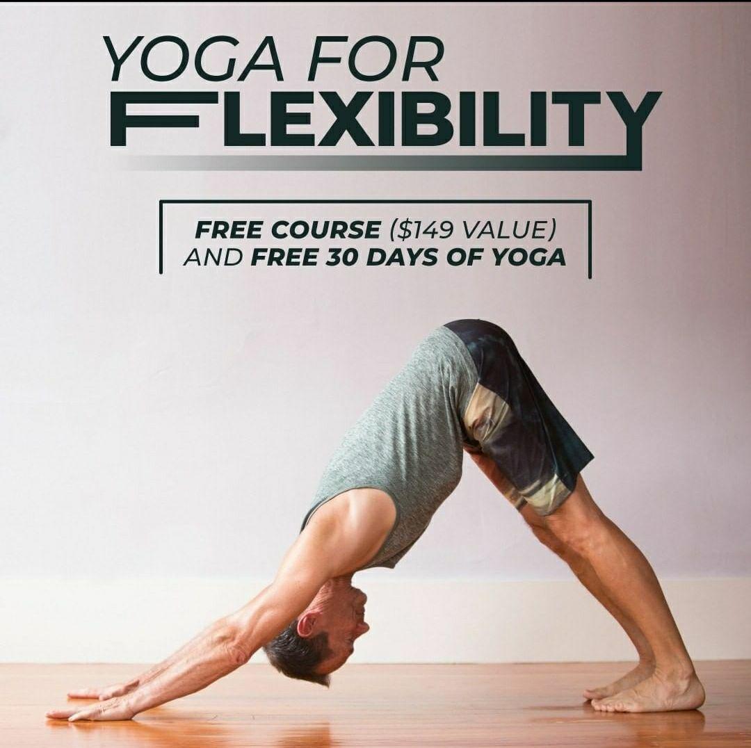 Curso de yoga para mejorar tu flexibilidad. Gratis