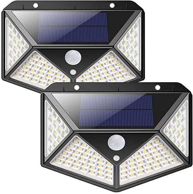 Luz Solar Exterior, iPosible [Versión Actualizada] (Paquete de 2)
