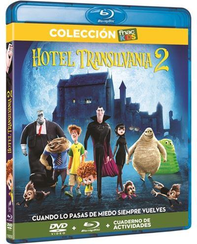 Hotel transilvania 2 - bluray+dvd+libro (+ EN DESCRIPCION)