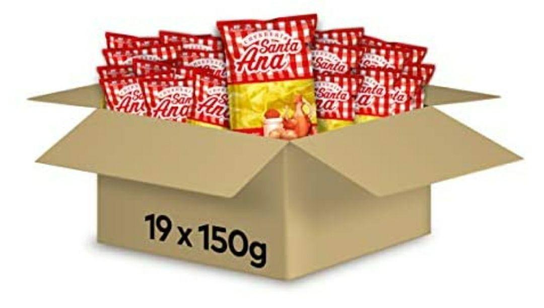 Santa Ana Patatas De Churrería 150 g - Pack de 19. Con compra recurrente
