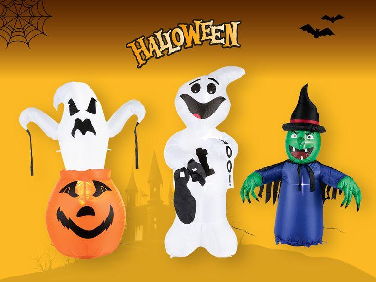 Figura de Halloween hinchable con LED's