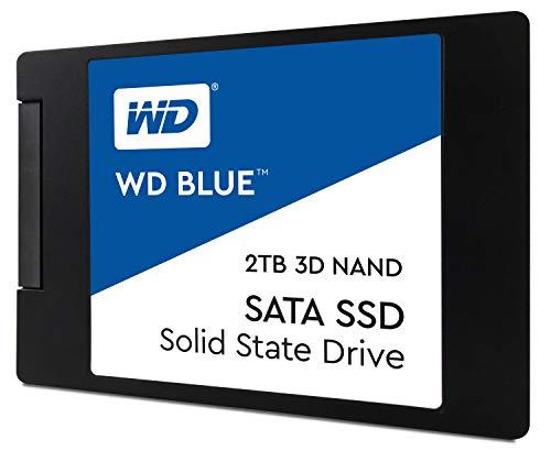 """WD Blue 2TB 3D NAND Internal SSD 2.5"""" SATA"""