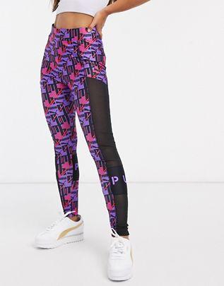 Leggings en violeta brillante XTG de Puma