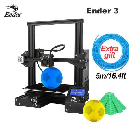 Impresora 3D Creality 3D Ender 3 / Ender-3 PRO + 5m de filamento (desde España)