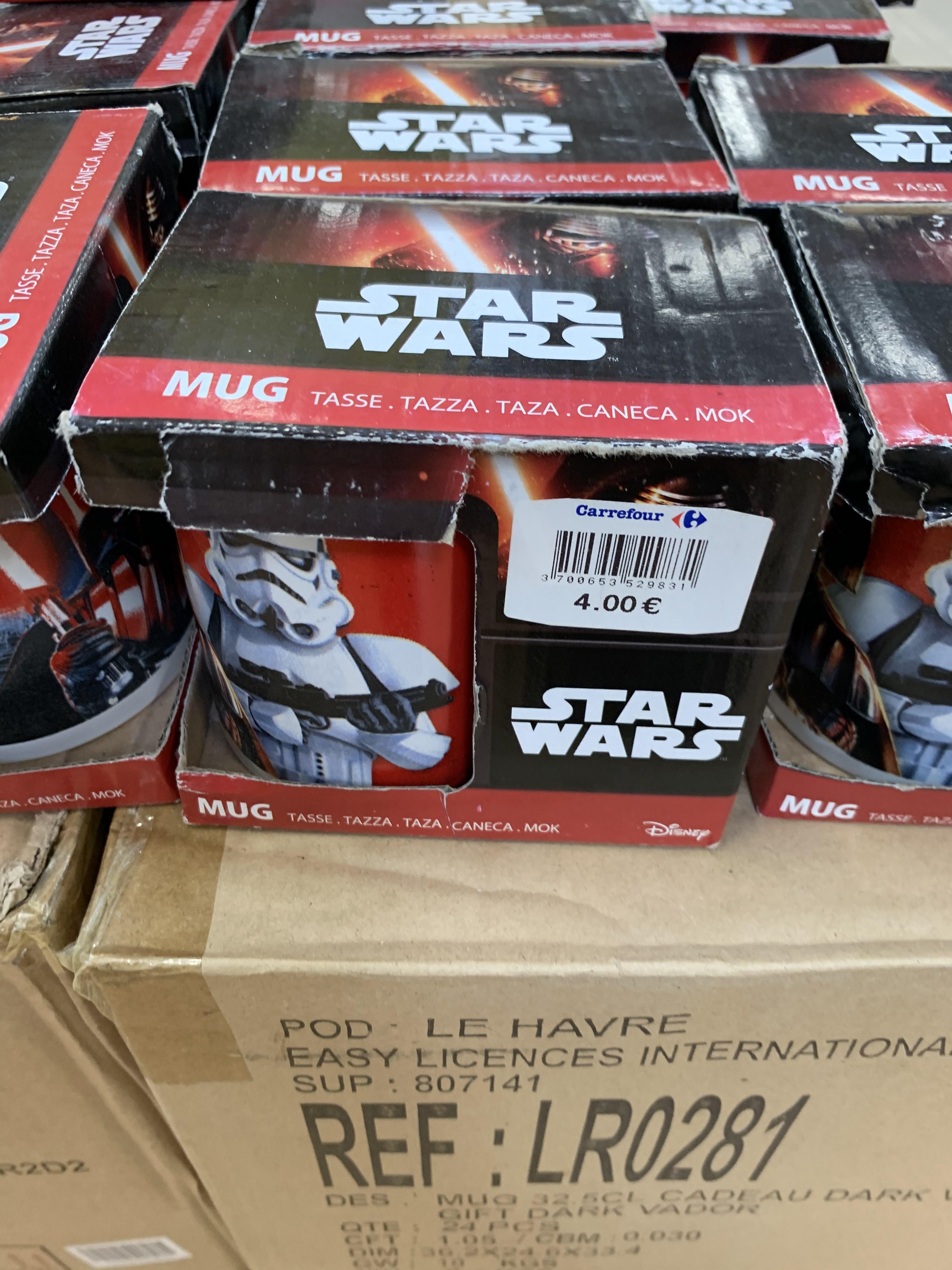 Tazas Star Wars (Carrefour Murcia)