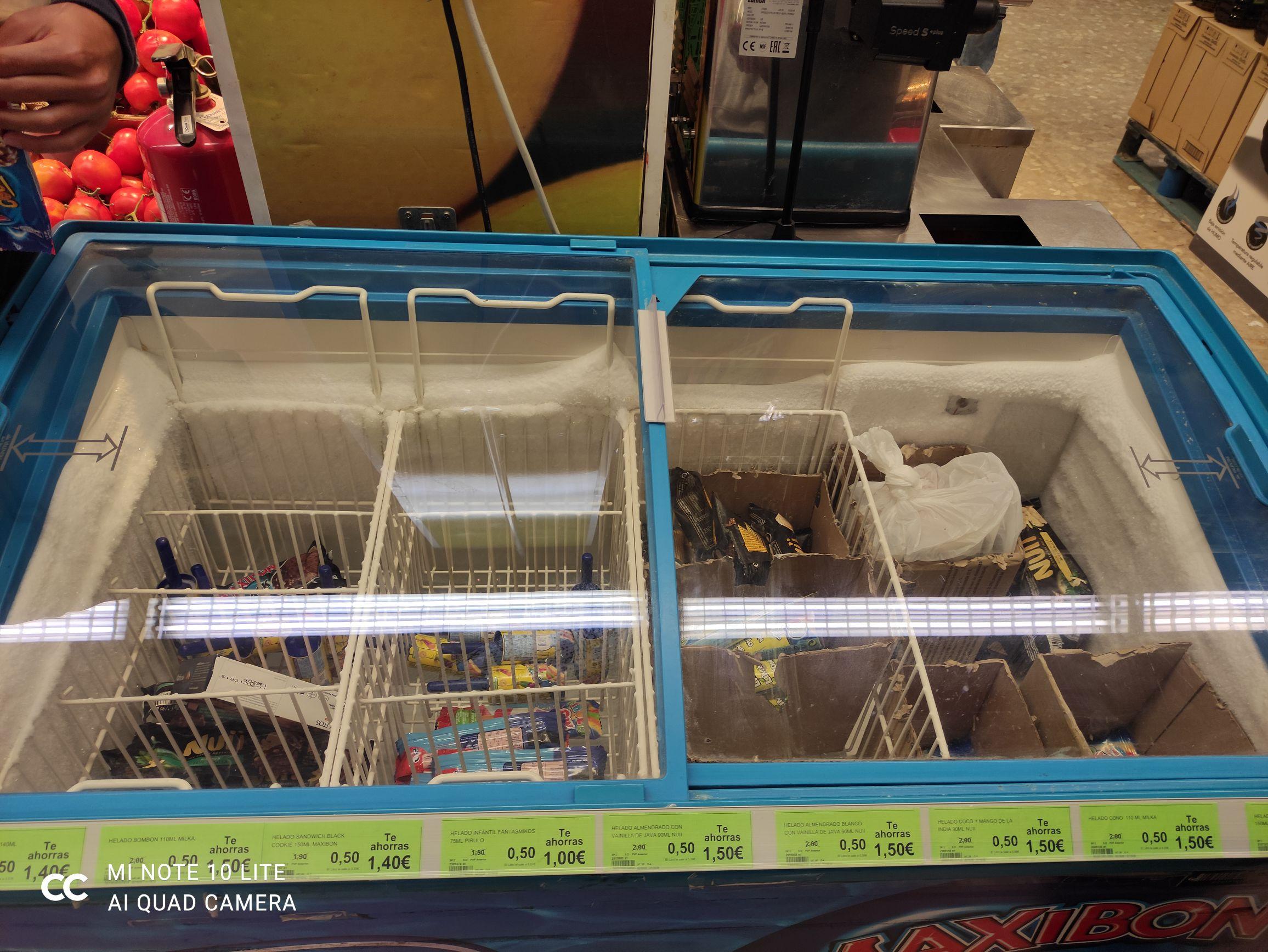 Helados Nestlé muchos tipos en Supersol Málaga (todos)
