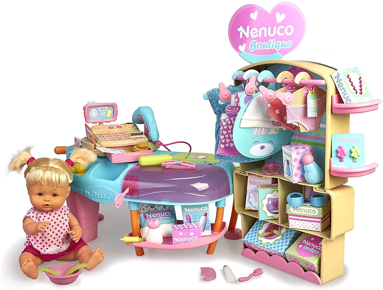 Nenuco Boutique, muñeca bebé con Tienda de Ropa de Juguete (Precio al tramitar)
