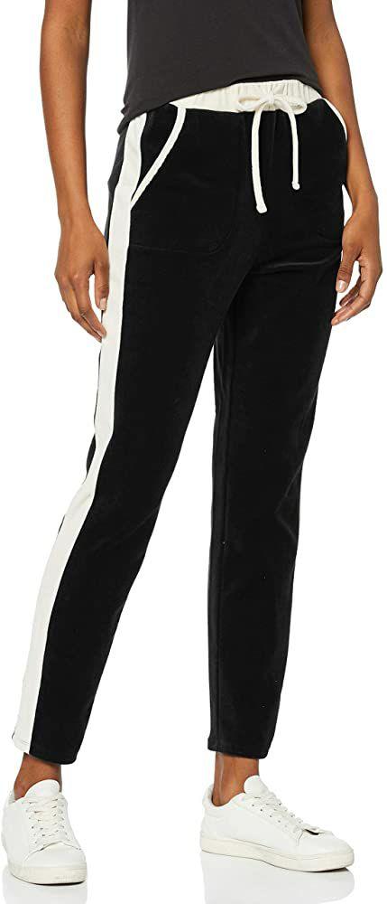 Pantalones Estilo 'Jogger' de Terciopelo para Mujer