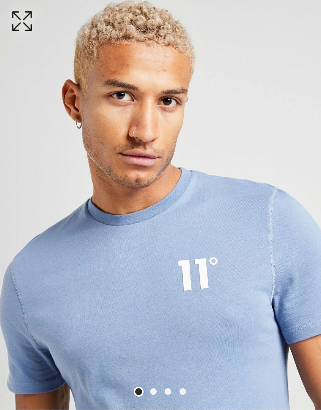 Camiseta manga corta marca 11 DEGREES. Tallas XS - S - M - L