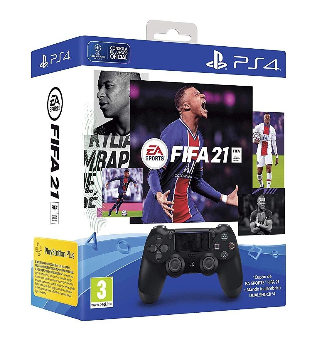 Mando Original PS4 + FIFA 21