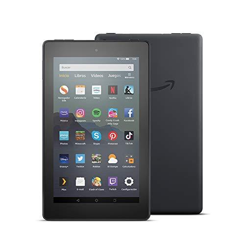Tablet Fire 7, pantalla de 7'', 16 GB (Negro)