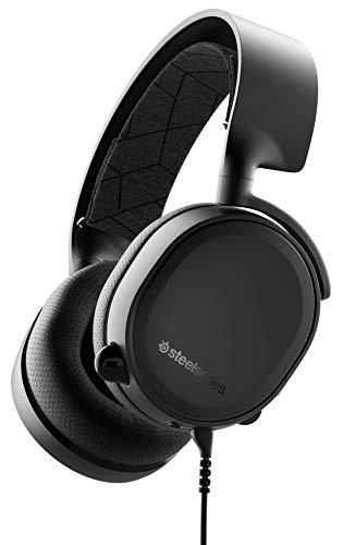 SteelSeries Arctis 3 - Auriculares de Juego Multiplataforma para PC, Playstation 4, Xbox One, Nintendo Switch