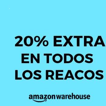 20 % en TODOS los Reacondicionados en Amazon