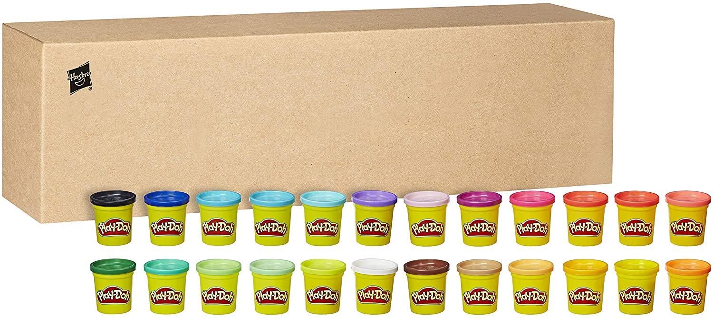 Pack 24 Botes Play-Doh, Hasbro