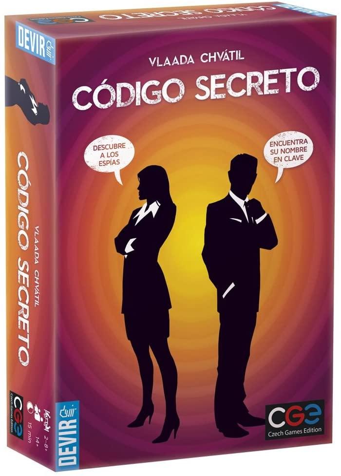Devir- Código Secreto Juego de Mesa