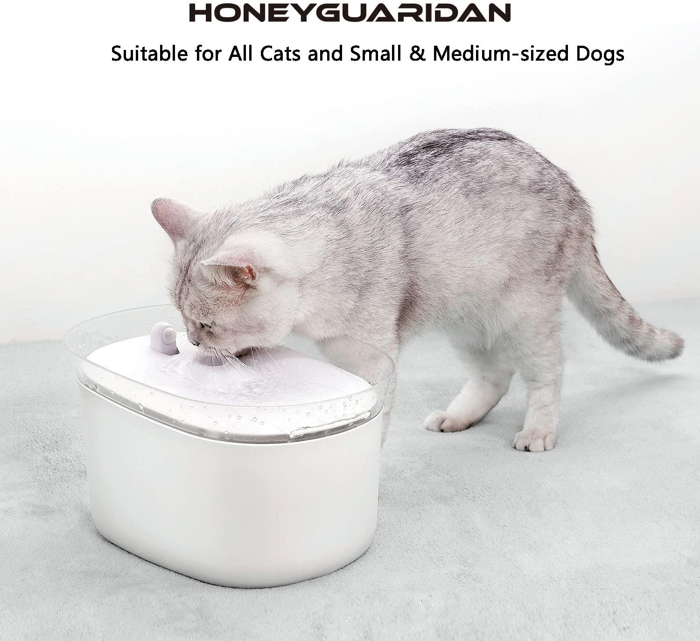 HoneyGuaridan W25 bebedero para mascotas con sensor