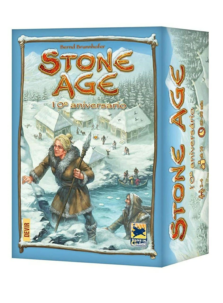 Stone Age Edición 10° Aniversario - Juego de mesa