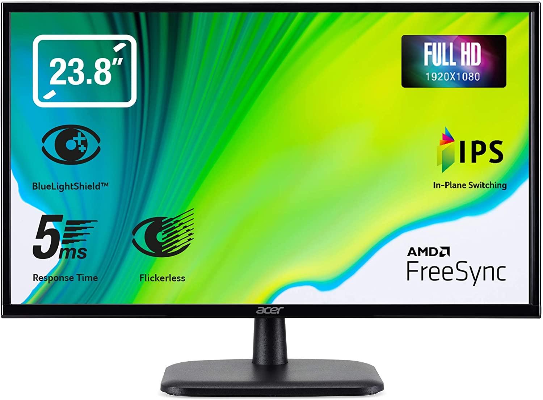 "Acer EK240YAbi - Monitor de 23.8"" FullHD"
