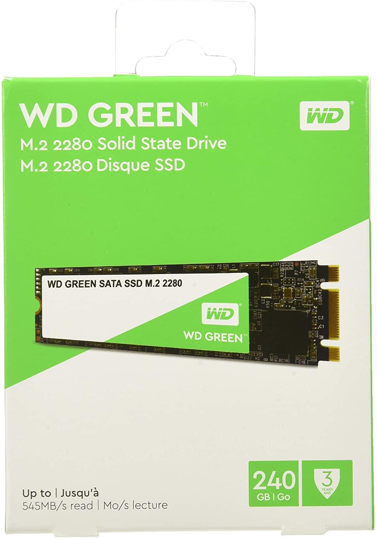 SSD WD Green M.2 240GB por solo 24€ (Como Nuevo)