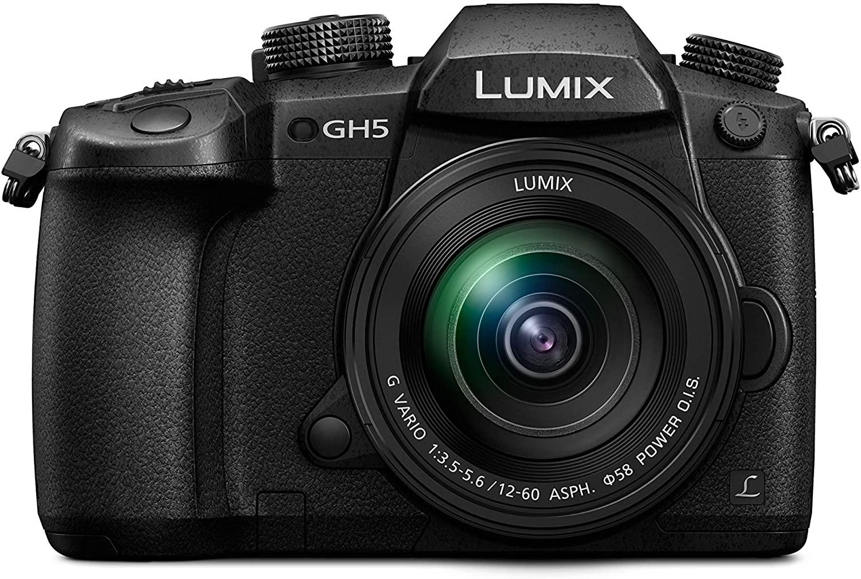 """Panasonic Lumix GH5M,Cámara Evil de 20.3 MP (Pantalla de 3.2"""",VisorOLED,estabilizador Dual I.S II 5 Ejes, 4K, Wi-Fi, Bluetooth) con Objetivo"""