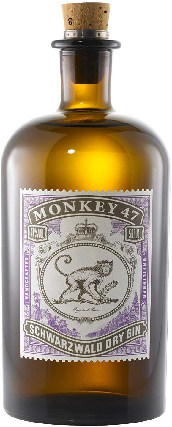 Botella Ginebra Monkey 47