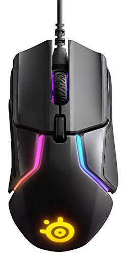 SteelSeries Rival 600, Sensor óptico dual TrueMove3+, Distancia de elevación 0.05, Sistema de peso
