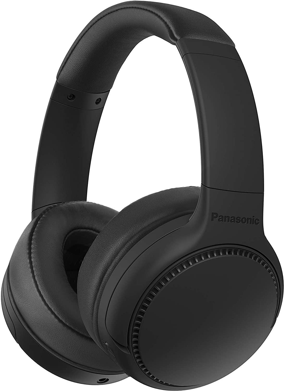 Panasonic RB-M300BE-K -Auriculares Inalámbricos Bluetooth (Control por Voz, XBS Potenciador de Bajos,Cable 1.2m,Batería de hasta 50h)