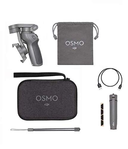 DJI Osmo Mobile 3 Prime Combo - Kit Estabilizador de 3 Ejes con Care Refresh, Compatible con Smartphone, Control Inteligente de Trípode