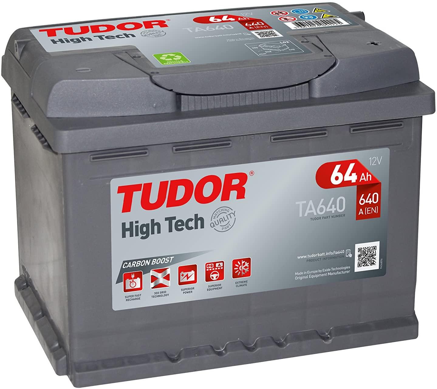Bateria Tudor TA 640