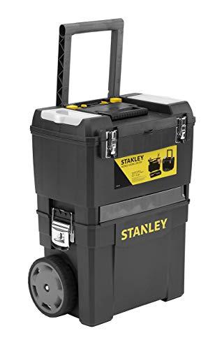 Stanley - Taller móvil para herramientas 2 en 1, 47,3 x 30,2 x 62,7 cm