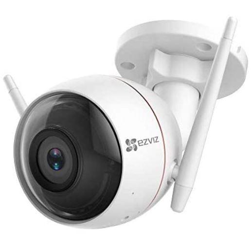 Camara de vigilancia exterior WiFi EZVIZ CTQ3W. IP66. Sirena 100DB. 30m de vision nocturna
