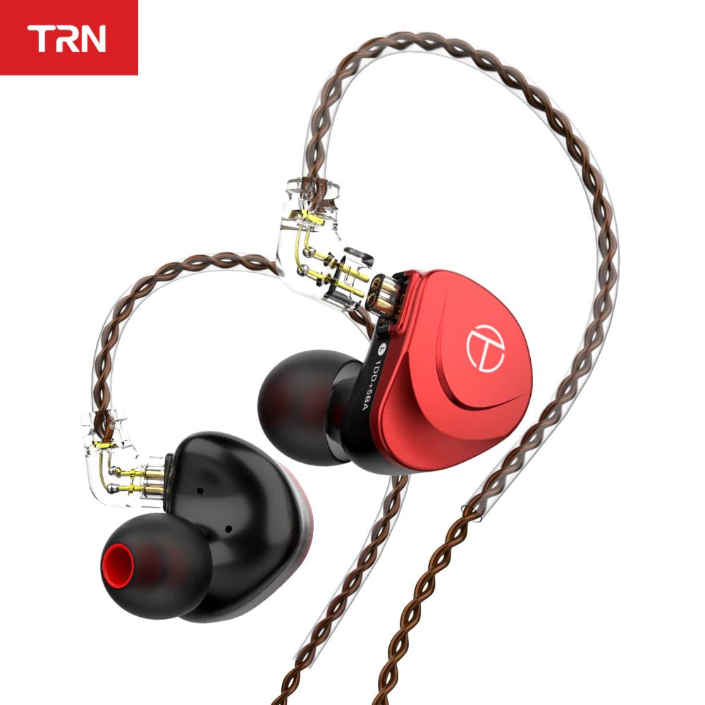 Auriculares TRN V90S + cable actualización TRN A2.