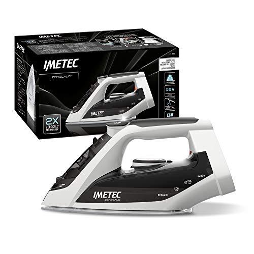Imetec 9012 ZeroCalc - Plancha antical, Suela en cerámica de Alto Deslizamiento, tecnología de Ahorro energético, 2200 W