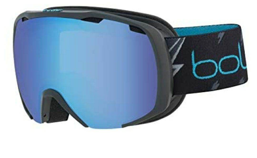 bollé Royal Gafas de Ski Matte Juventud Unisex Small, Black Flash Latte/Aurora Cat.2