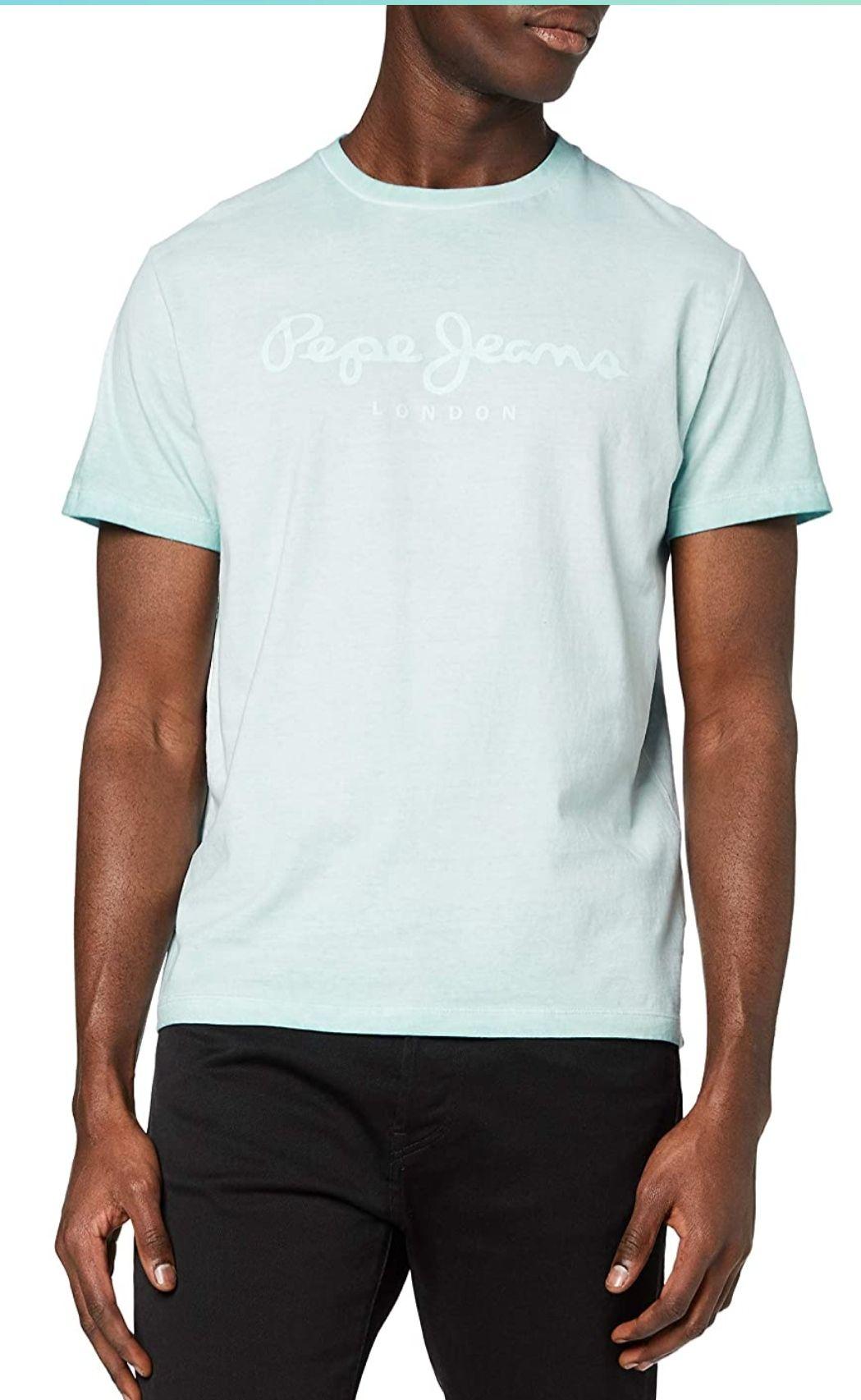 Camiseta Pepe jeans 100% algodón. Talla M. Talla S - 9.30€/ Talla L - 10,50€/ Talla XL - 7,56€
