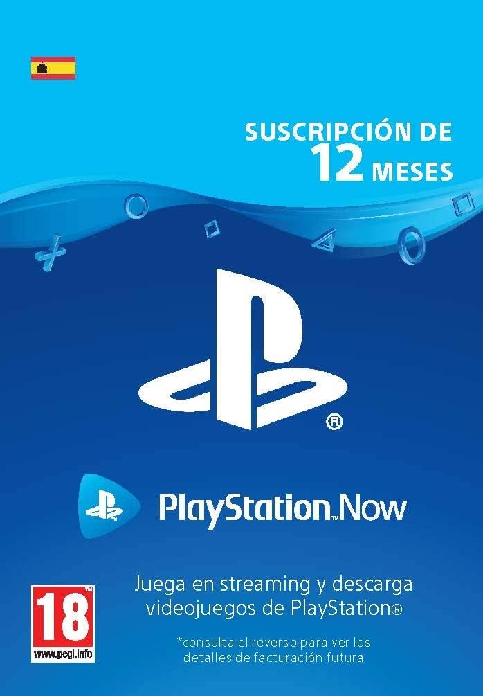 [Prime Days] PlayStation Now - Suscripción 12 Meses