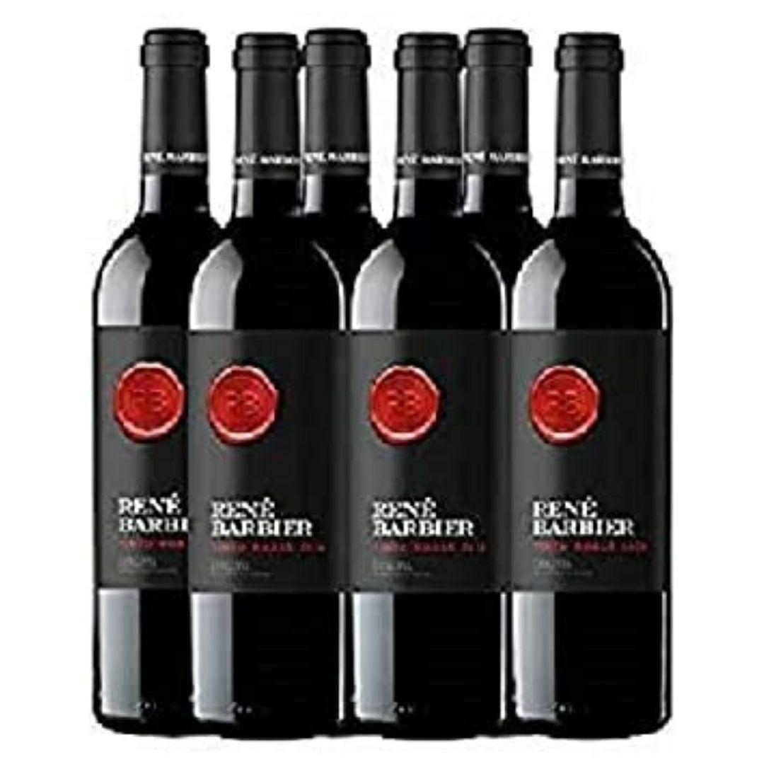 Rene Barbier - Roble Tinto Botella 75 cl (D.O. Catalunya) - Pack de 6 botellas - 4500ml