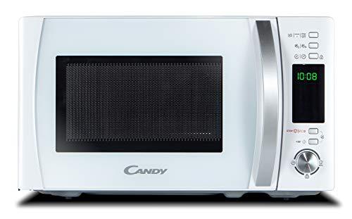 Microondas Digital con Grill Candy CMXG 20DW (Cook In App, 40 Programas Automáticos, 700 W, 20 litros, Blanco)