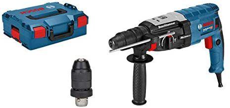 Taladro martillo perforador Bosch Professional GBH 2-28 F + portabrocas SDS plus + cilíndrico