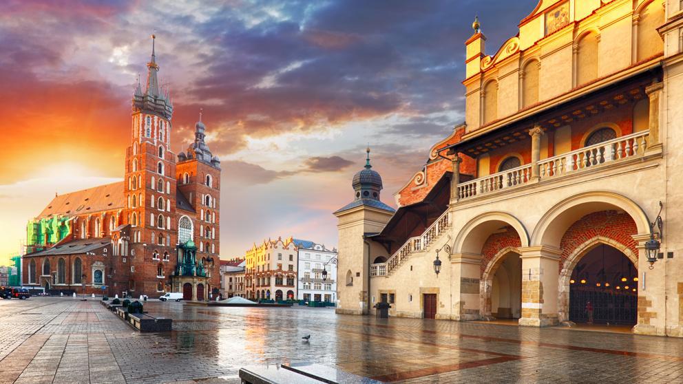 Vuelos a Cracovia por 20€ ida y vuelta
