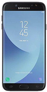 """Samsung Galaxy J3 2017 - Smartphone libre de 5"""" HD (4 G, Bluetooth, Octa-Core de 1.4 GHz, memoria interna de 16 GB, 2 GB RAM, pantalla LCD, cámara de 13 MP, Android 7.0, versión española), color Negro"""