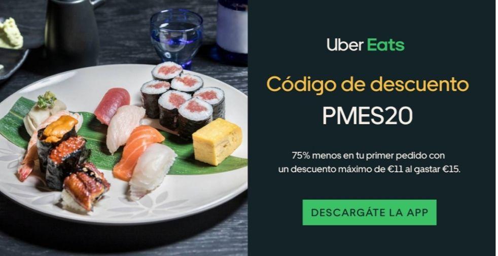 Código descuento Uber Eats