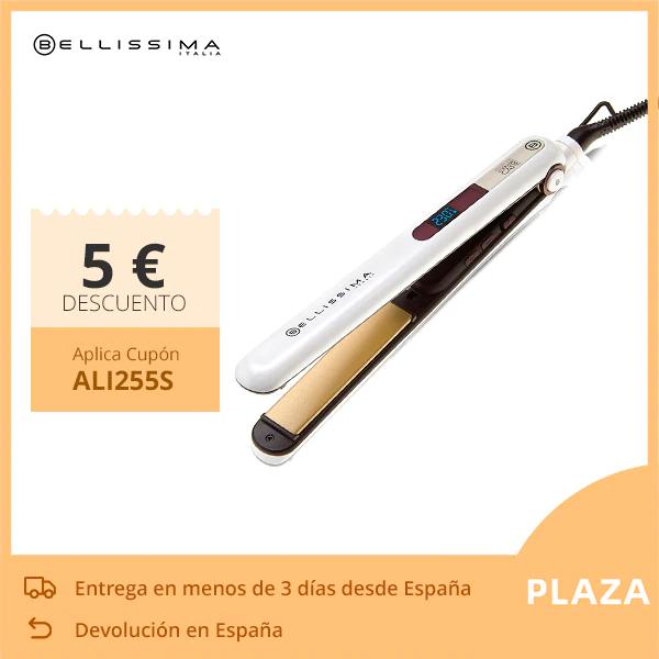 Bellissima Plancha de Pelo B9 400 para Cabellos Lisos u Ondulados en una Sola Pasada 9 Niveles 230 ºC Revestimiento Keratina