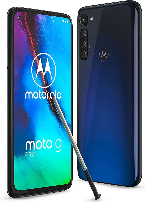 Motorola G Pro 4+128GB mínimo historico