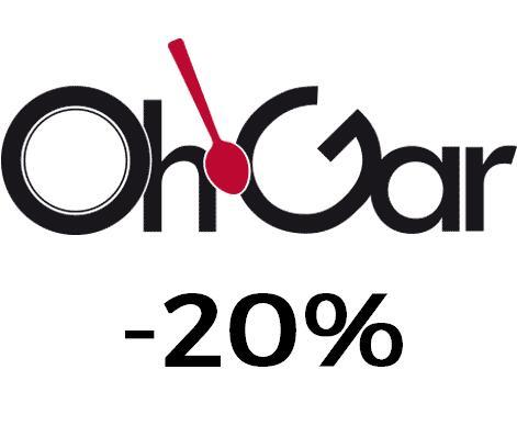 Prime ohgar -20% de descuento en toda la web salvo oportunidades-