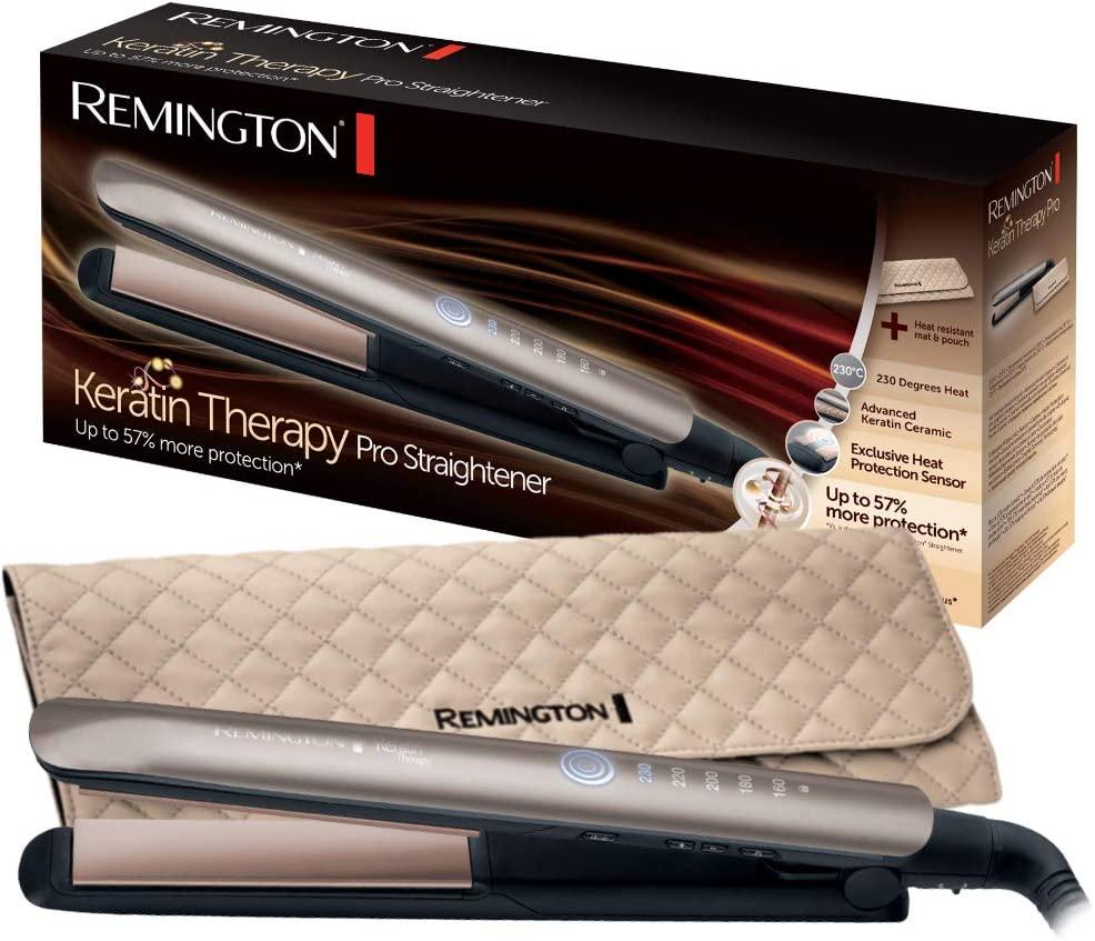 Plancha de pelo Remington S8590 Keratin Therapy Pro
