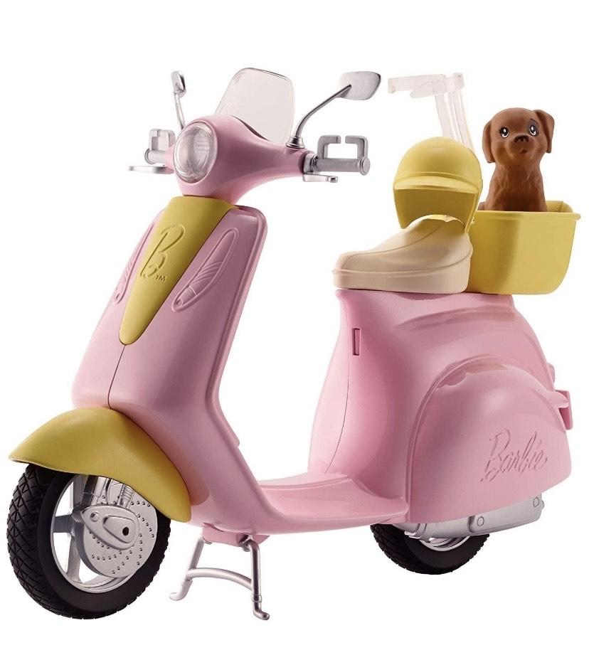 Barbie - Accesorios moto de Barbie, regalo para niñas y niños 3-9 años (Mattel