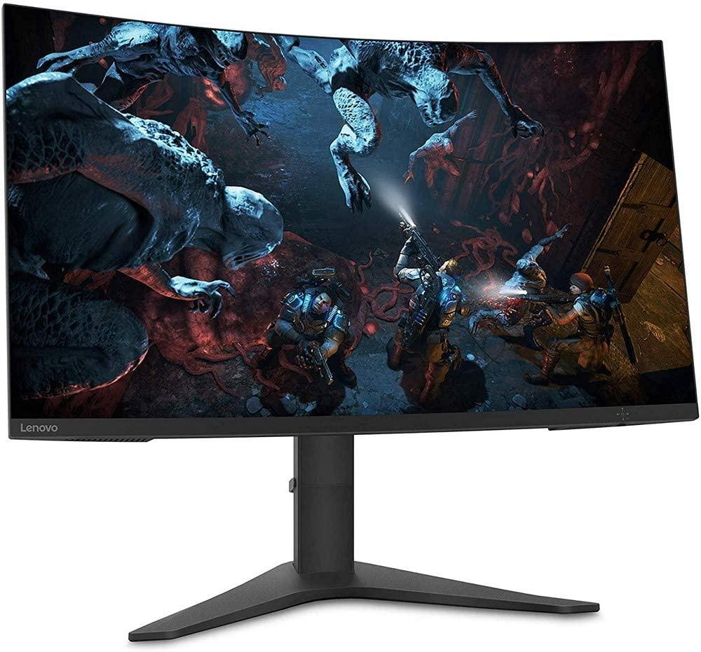 "Lenovo G32qc-10 QHD: Monitor PC Gaming curvo 80 cm (31,5""), 144 Hz, FreeSync y Flicker Free - Mínimo histórico"